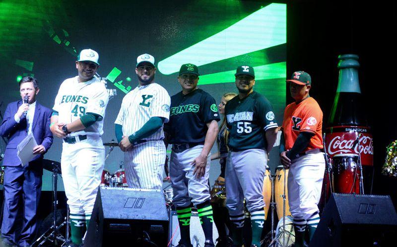Los Leones de Yucatán se presentan ante los aficionados  299cf3c1a30