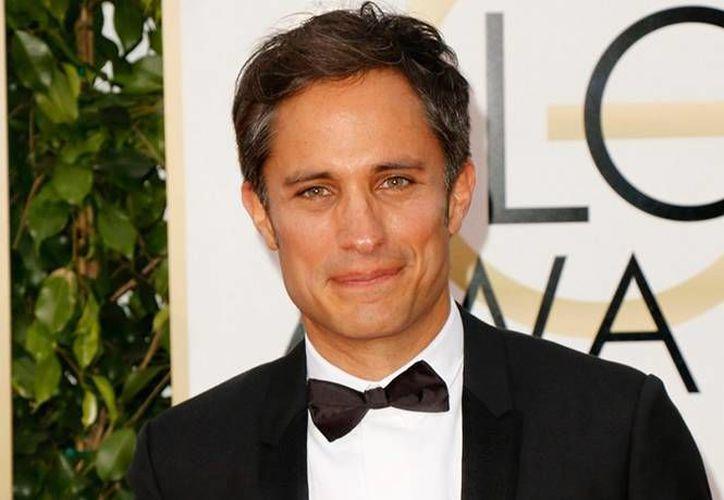 Gael García es uno de los tres nuevos miembros del comité de los Oscar.(Notimex)