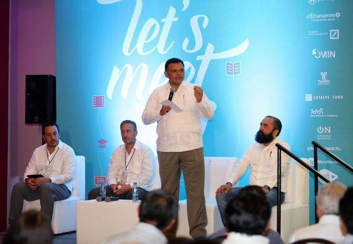 Por quinta ocasión, Yucatán es sede del Foro Latinoamericano de Inversión de Impacto. (Fotos cortesía del Gobierno)
