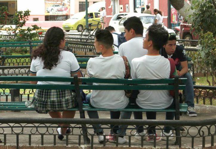 Promueven estilos de vida saludables entre los adolescentes. (Jorge Acosta/SIPSE)