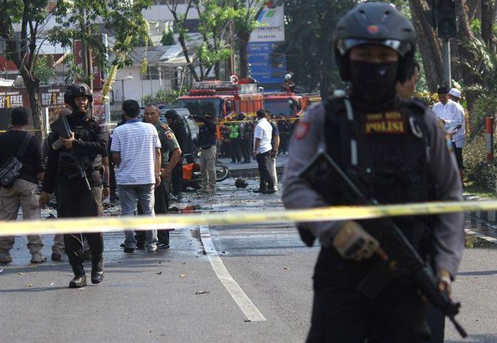 Más de una decena de personas murieron en los ataques en Indonesia.(Reuters)