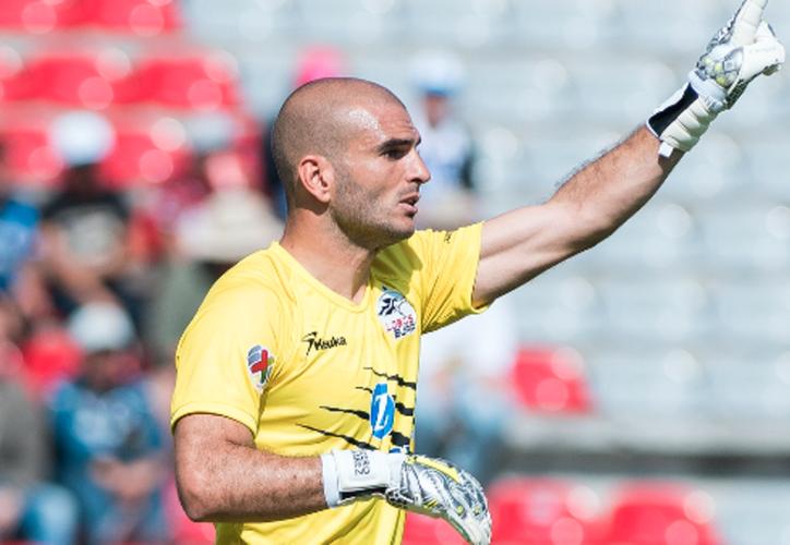 Lucero Álvarez, portero de Lobos BUAP regresa a jugar con Lobos BUAP. (Univisión).