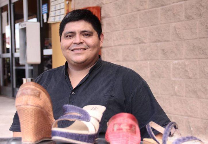 'Las personas con discapacidad podemos hacer muchas cosas, trabajar y procurarnos nuestros propios ingresos', dijo Moisés Poot Tun. (Jorge Acosta/SIPSE)