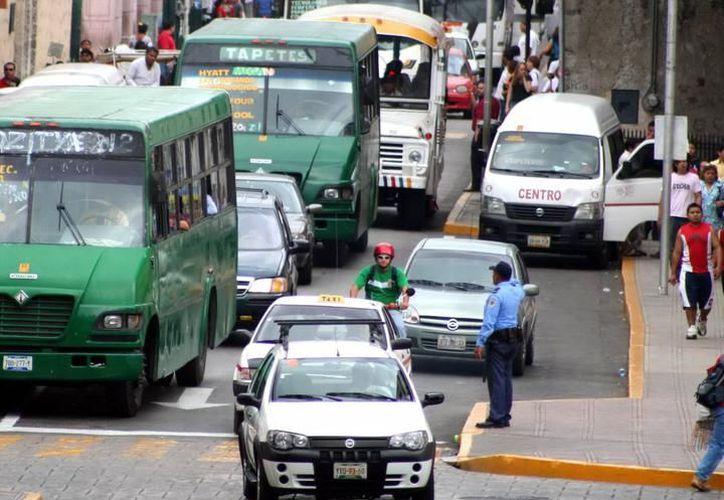 El Gobierno del Estado anunció cambios en paraderos de transporte público, previo y durante festejos patrios. (SIPSE)