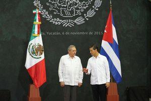 Visita de Raúl Castro a Yucatán
