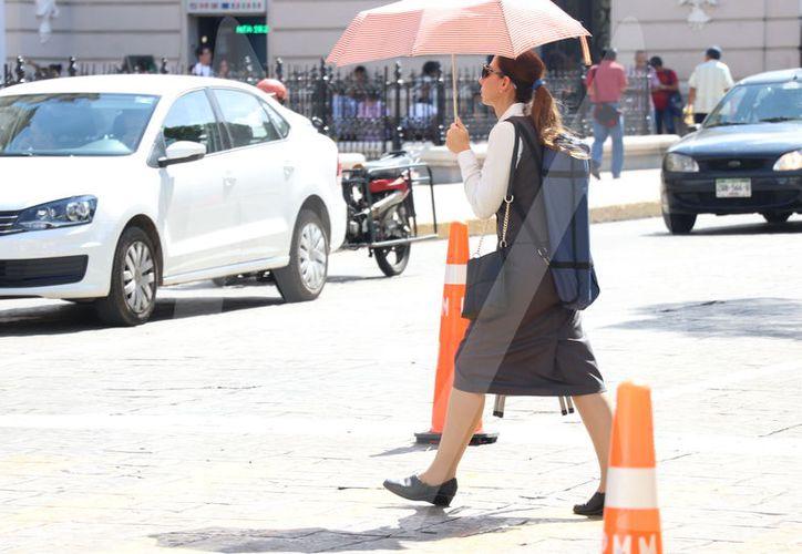 Además de mucho calor, se esperan algunas lluvias para el estado de Yucatán. (Foto Daniel Sandoval/SIPSE)