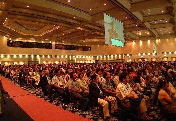 A nivel nacional Cancún  y el D.F. lideran el mercado de los congresos y convenciones. (Internet)