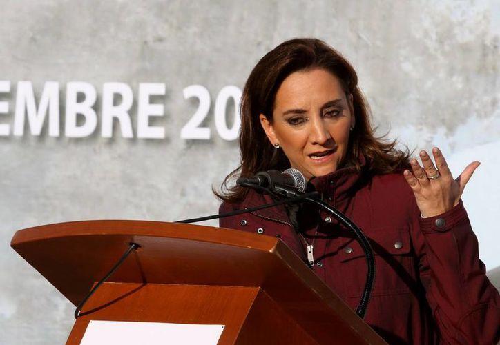 Claudia Ruiz Massieu informó que la dependencia sería reestructurada, a fin de responder mejor a las necesidades de la industria. (Archivo/Notimex)