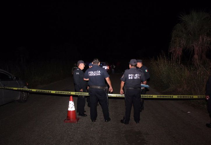 Atiene la Policía de Chetumal reporte de occiso en comunidad. (Foto: SIPSE)