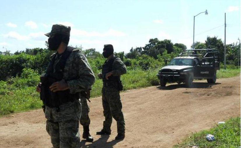 Es la segunda ocasión en el mes en que elementos de seguridad se enfrentan con delincuentes en el Estado de México. (Archivo/SIPSE)