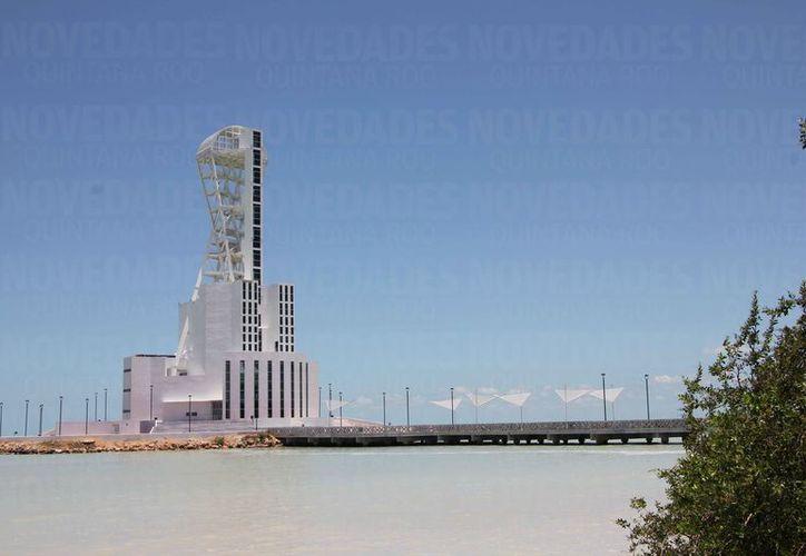 La construcción de la Megaescultura inició en el año 2003. (Benjamín Pat/SIPSE)