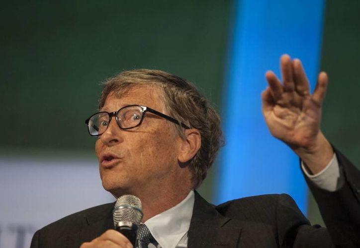 Para Bill Gates el mundo de los autos constituye también un importante destinatario de los negocios de Microsoft. (Archivo/EFE)