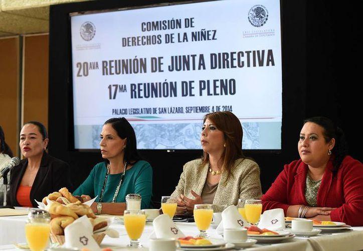 A través de la comisión de los derechos de la niñez, la Cámara de Diputados comenzó el análisis de la Ley General de los Derechos de las Niñas, Niños y Adolescentes. (SIPSE)