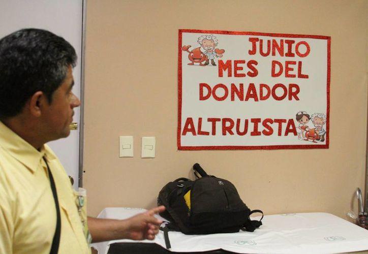 El próximo 14 de junio se conmemora el Día Mundial del Donante de Sangre. (Sergio Orozco/SIPSE)