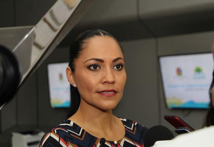 Alejandra Crespo no tiene fecha para abrir el servicio del área ambulatoria de oncología en Cancún. (foto: SIPSE)