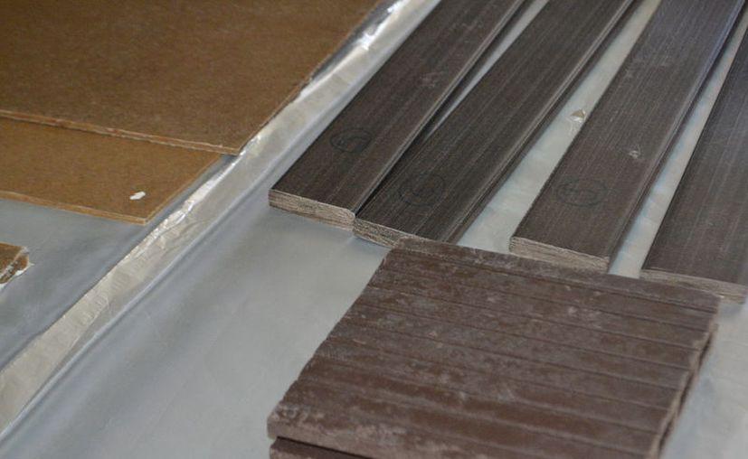 La madera plástica es más resistente al agua. (Conacyt)