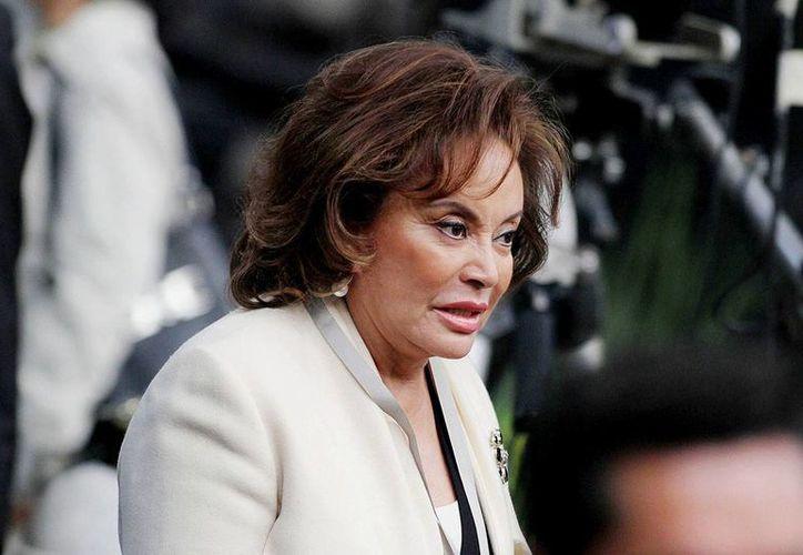 Elba Esther Gordillo fue detenida el 26 de febrero.  (cuartopolitico.com)