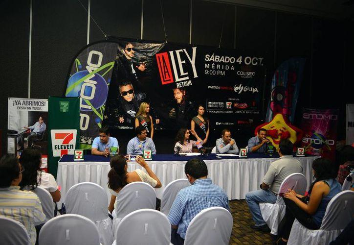 Los promotores del evento durante la conferencia de prensa indicaron que los más grandes éxitos del grupo serán interpretados por La Ley y Ely Guerra. (Milenio Novedades)