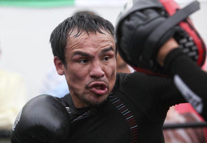 Márquez está consciente que tiene otra oportunidad de oro de poder cerrar su brillante carrera profesional si antes vence a Alvarado, un rival al que 'respeta'. (EFE/Archivo)