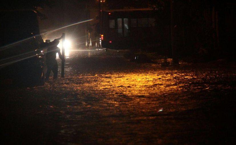 El Cinvestav Mérida reportó 100 mm. de agua en diversas zonas de la ciudad. (Jorge Acosta/ Milenio Novedades)