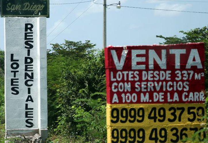 El precio del m2 de tierra atrae a inversionistas de otras ciudades mexicanas y del extranjero. (Foto: Jorge Acosta/Milenio Novedades)