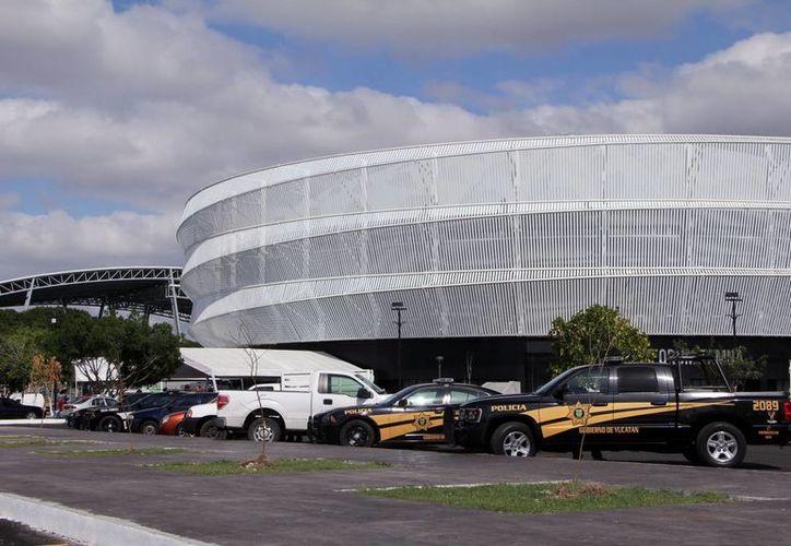 Entre las obras está la remodelación de la Unidad  Deportiva Kukulcán. (José Acosta/SIPSE)