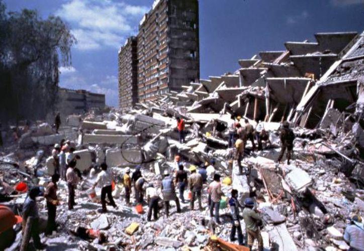 La mañana del 19 de septiembre de 1985, un terremoto de 8.1 grados Richter dejó miles de muertos en la Ciudad de México. (teatroojo.mx)
