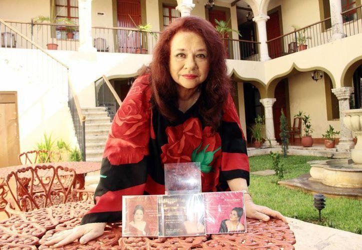 Conchita Antuñano interpretará, en su concierto en el teatro José Peón Contreras, temas de todos sus discos. (Milenio Novedades)