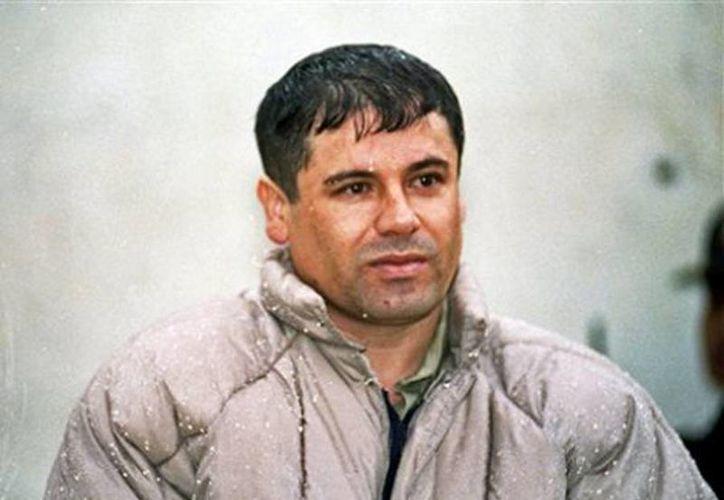 "Joaquín ""El Chapo"" Guzmán. (Archivo/AP)"