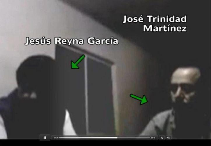 Video de la presunta reunión entre 'La Tuta' y Reyna (Milenio Televisión)