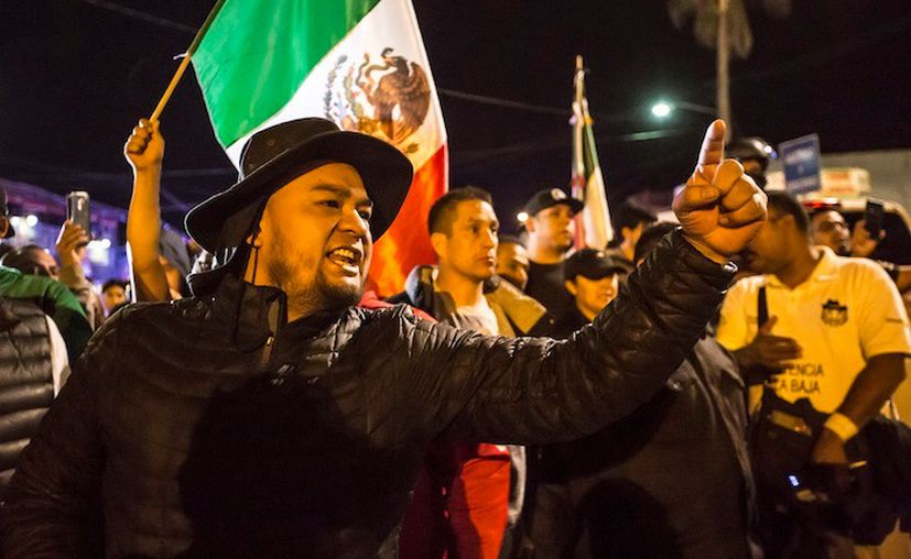 La Patrulla Fronteriza dio a conocer que este grupo está formado en su mayoría por familias o adolescentes no acompañados que no está vinculado a la Caravana del Migrante que se desplazan por diferentes puntos de México. (Cuarto Oscuro)