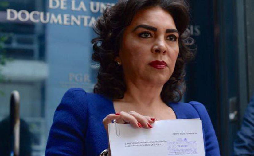 La exgobernadora Ivonne Ortega aseguró que su móvil fue intervenido; pide que 'caigan' los responsables. (Facebook/Ivonne Ortega)