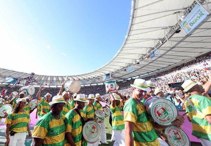 El estadio Maracaná, donde durante el Mundial de 2014 (foto) se realizaron narraciones de partidos para discapacitados visuales, volverá a ser  sede de este servicio, pero ahora en todos los partidos de la Liga brasileña. (Notimex)