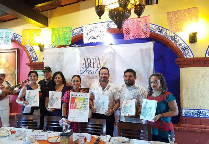 La quinta edición del festival se dio a conocer en conferencia de prensa. (Jocelyn Díaz/SIPSE)