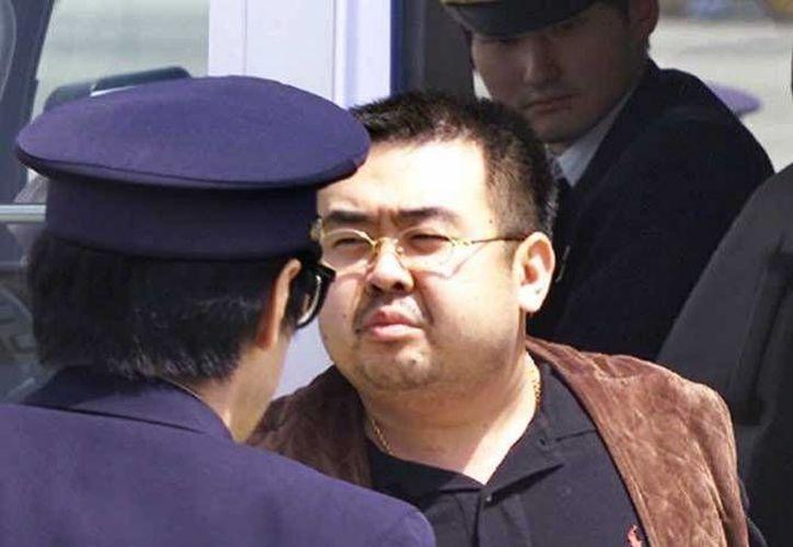 Kim Jong-nam, hermano mayor del líder norcoreano, Kim Jong-un, fue hallado muerto tras ser envenenado con la sustancia VX.(Archivo/AP)