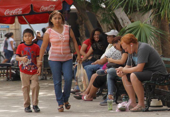 Programa en contra del maltrato a al mujer. (Foto:Jorge Acosta/Milenio Novedades)
