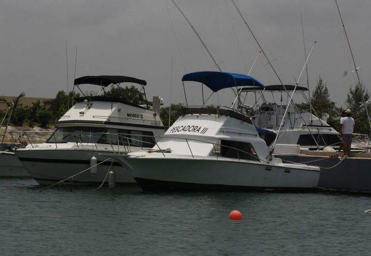 Las embarcaciones están listas para la competencia. (Raúl Caballero/SIPSE)