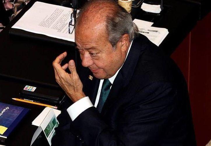 Carlos Romero Deschamps (foto) desmintió la declaración del senador Luis Sánchez acerca de que en Pemex se avecina una ola de despidos. (Agencias/Foto de archivo)