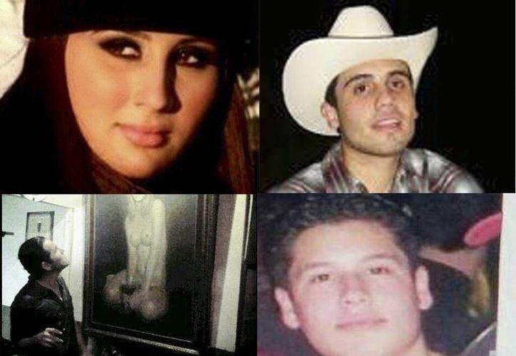 Imágenes perfil de las cuentas de Twitter de los hijos de 'El Chapo' Guzmán. (Fotos tomadas de Twitter)