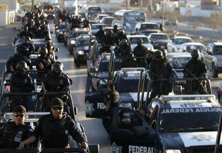 Las autoridades esperan que mañana la Policía Federal tenga todos los municipios -que forman parte de la estrategia de seguridad- bajo control. (Archivo/SIPSE)