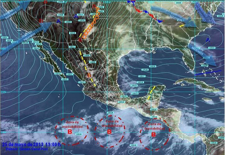 El viento soplará desde el este, a 15 km/h, con rachas de hasta 30 km/h. (Redacción/SIPSE)