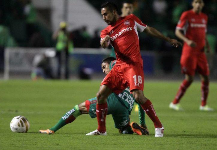 Toluca ganó por segunda vez en la Liga MX como local, esta ocasión ante Gallos Blancos. (Foto de archivo de Notimex)