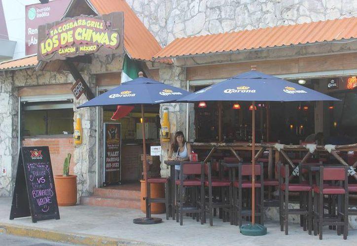 """El restaurante """"Los de Chiwas"""" se ubica en la avenida Bonampak de Cancún. (Alejandra Flores/SIPSE)"""