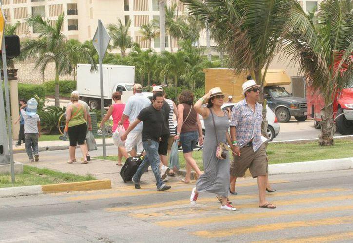 El mercado nacional se colocará como el principal segmento de turismo. (Israel Leal/SIPSE)