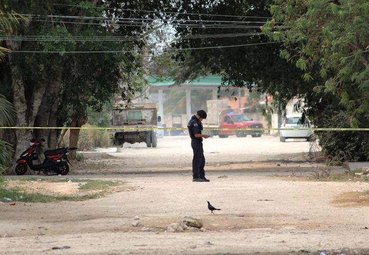 El viernes, dos mujeres fueron agredidas con un hacha, una de ellas ya perdió la vida. (Foto: Octavio Martínez)