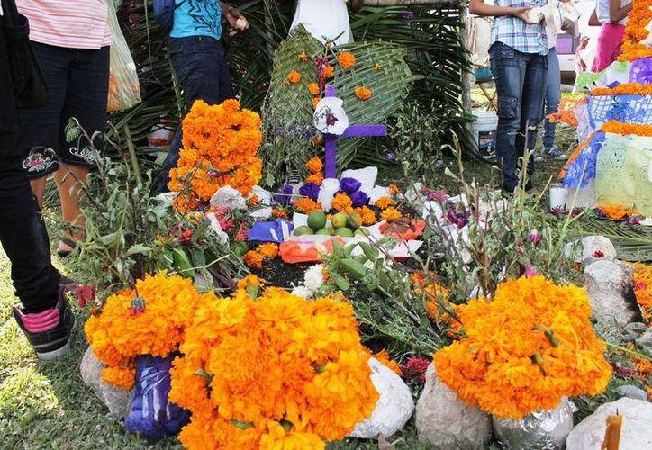 Gran parte de la población mexicana acude a las florerías para adquirir este producto. (Harold Alcocer/SIPSE)