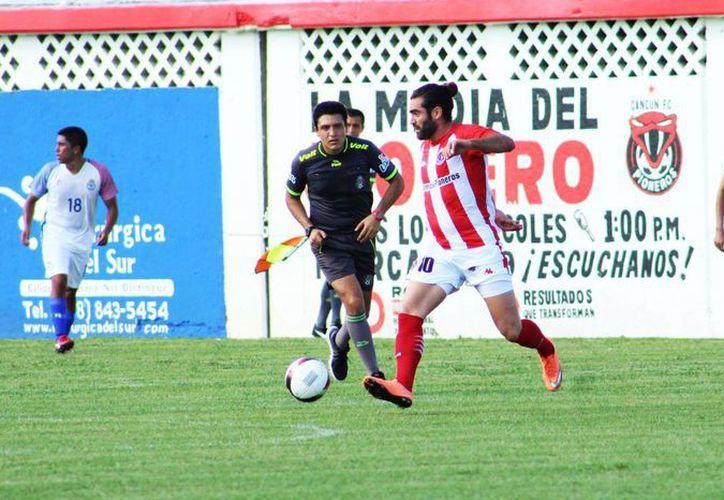 Hasta el momento el cuadro cancunense está con tres victorias, ocho goles a favor y dos en contra. (Raúl Caballero/SIPSE)