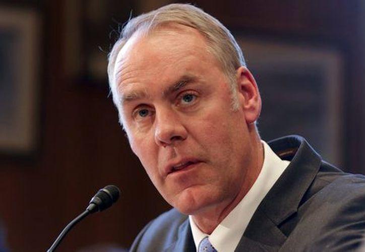 El secretario del Interior de EU, Ryan Zinke., señaló que no cederán el Río Bravo. (Reuters)
