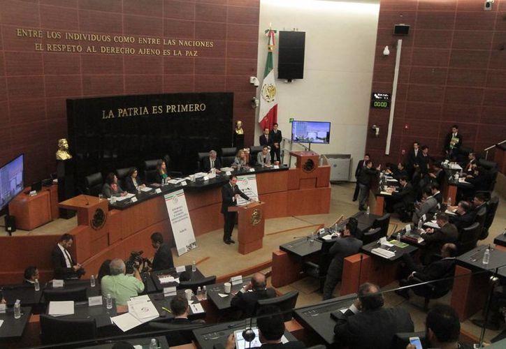En el Senado de la República fue instalada la Comisión Especial de Seguimiento a los hechos ocurridos el 19 de junio en Nochixtlán, Oaxaca. (Notimex)