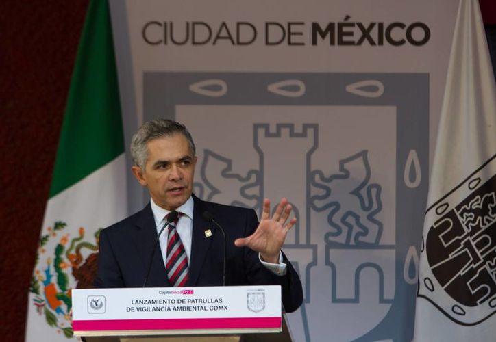 """A pesar de los recientes homicidios en la delegación Iztapalapa, el Jefe de Gobierno del DF reitera que """"ningún cártel de droga está asentado en la Ciudad de México"""". (Foto de archivo/Notimex)"""